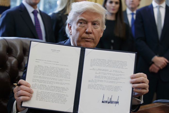 Trump Boosts Keystone XL, Dakota Pipelines