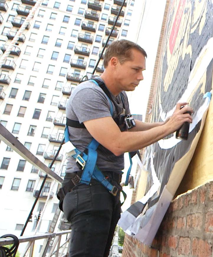 legendary street artist Shepard Fairey