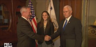 Watch Gen. James Mattis be sworn in as secretary of defense