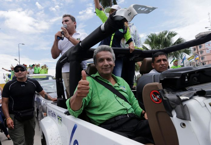 Ecuador Election: Exit Polls Put Ruling Party Candidate Lenin Moreno in Lead