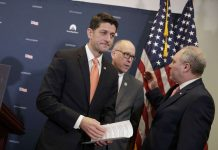 GOP leaders unveil new health law outline, divisions remain