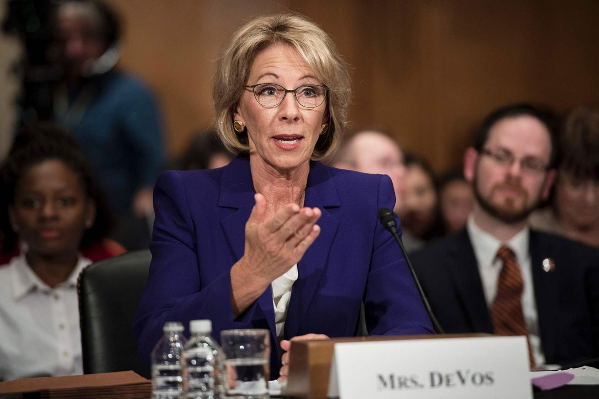 Betsy Devos Is Just Plain Wrong >> Why Is Betsy Devos Unpopular For Education Secretary Commentary