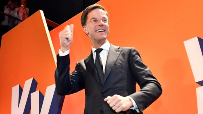 Dutch Prime Minister Mark Rutte Parliamentary Election Victory