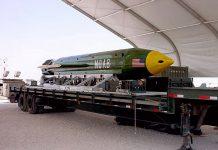 36 Islamic State Militants Dead by Giant GBU-43B Bomb