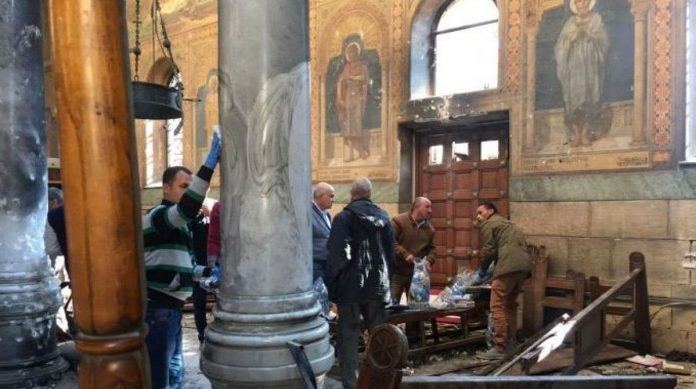 Church Bombing North of Cairo on Palm Sunday