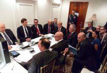 Decoding Trump 'War Room' Photograph