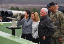Pence Visits Korean Demilitarized Zone