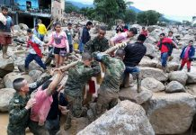 Rescuers Digging for Colombia Flood Victims, at Least 210 Dead