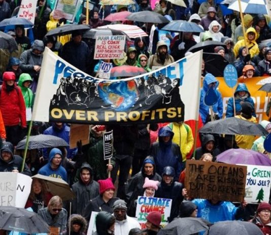 Thousands Marched to Protest Trump Climate Policy