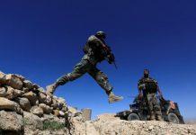 U.S. troops still battling Islamic State near site of Afghan bomb strike