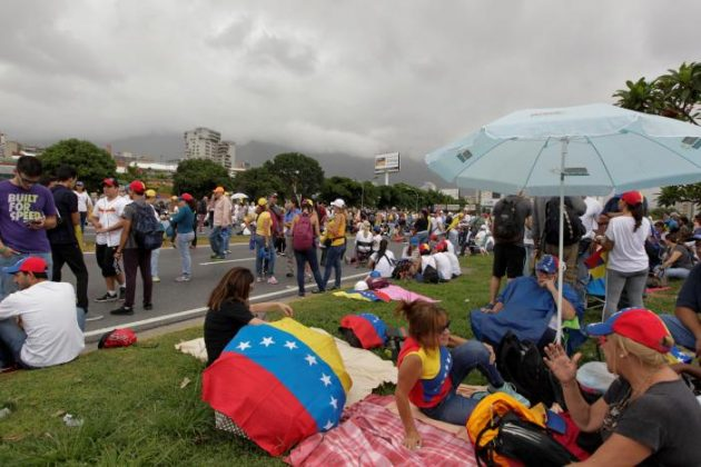 Anti-Maduro Protests Persist in Venezuela