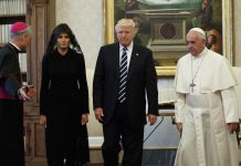 Why Did Melania Trump Cover her Head One Day and Not the Next