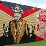 Shepard Fairey Mural at Wynwood Walls