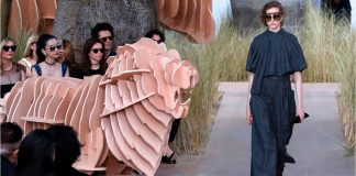 Dior Fashion Show Celebrates 70 Years
