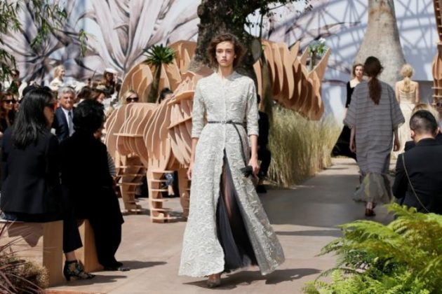Dior fashion show celebrates 70 years of traveling spirit