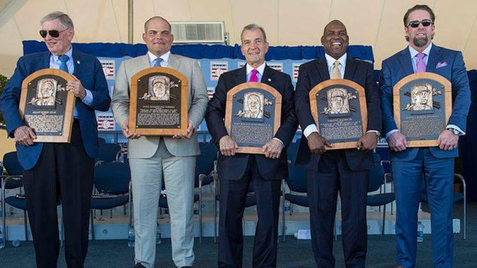 Baseball Hall of Fame Inductions 2017