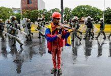 Venezuelan Violinist Wuilly Arteaga Injured During Protest in Venezuela