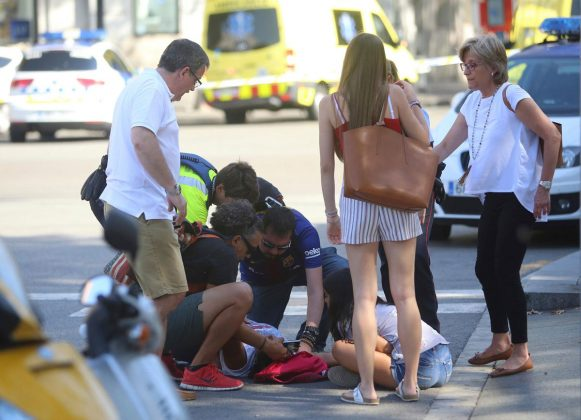 Barcelona Las Ramblas District Terror Attack