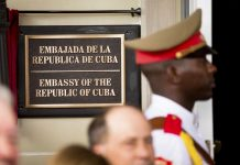 Two Cuban Diplomats From Their embassy in Washington