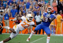 No. 24 Florida Stuns 23rd Ranked Tennessee with Hail Mary