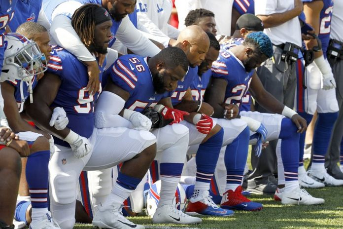 President Donald Trump Revels in Drama Over Spat with NFL