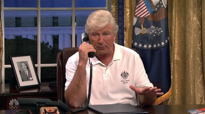 Highlights of SNL New Season Hitting Back at Donald Trump
