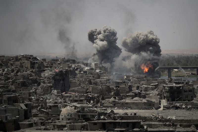 The rise and fall of the Islamic State group