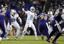Ravens Frustrated Moore and the Miami Dolphins in a 40-0 Victory