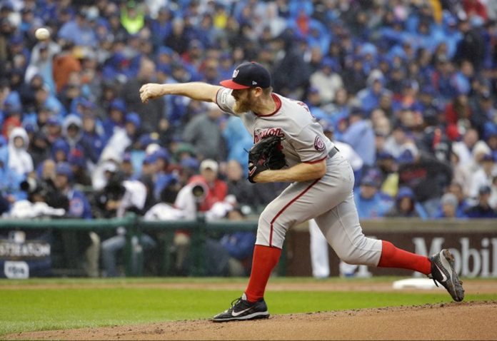 Strasburg's First Career Playoff Win Forces NLDS to Game 5