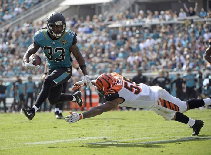 Jaguars Dominate Bengals in 23-7 Win, Allow Season-low 148 Yard