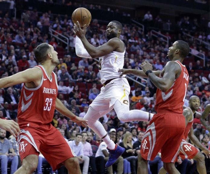 James Harden Has Triple-Double, Rockets Hold Off Cavs 117-113