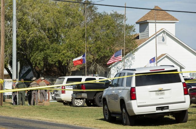 Mass Shooting at a First Baptist Church in Sutherland Springs