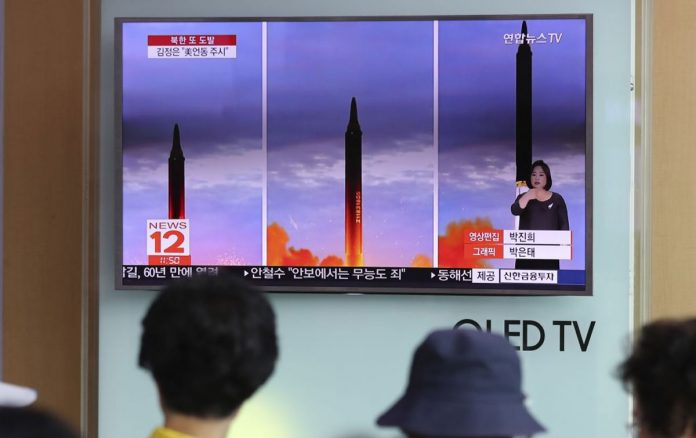 North Korea Launches Missile, Dashing Hopes of Diplomatic Opening