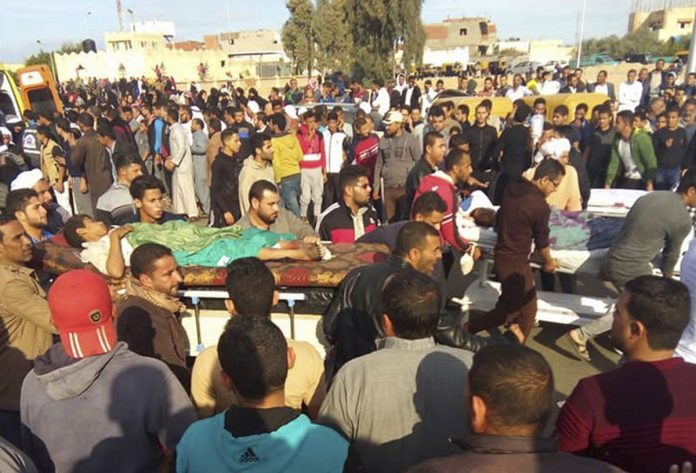 The Latest on the Militant Attack on Sinai Mosque
