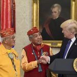 Trump Revives 'Pocohontas' Jab at Warren When Honoring Navajos