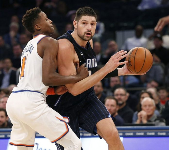 Nikola Vucevic Has 34 Points, Magic Beat Knicks 105-100