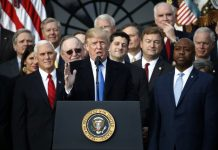 Trump Celebrates After Congress Wraps up Massive Tax Package