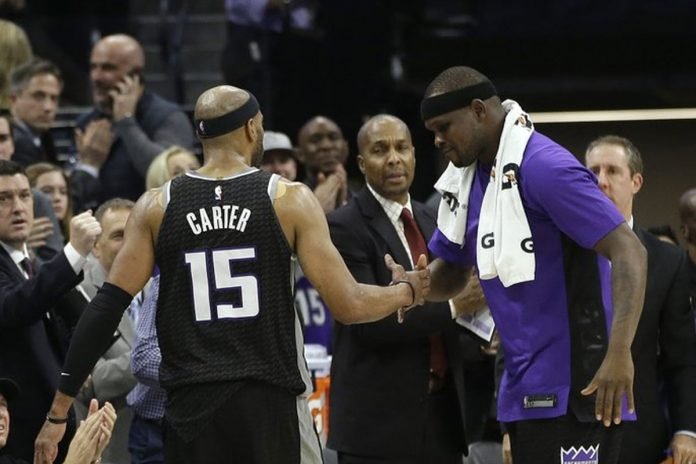Vince Carter's Season-High 24 Leads Kings Past Cavs 109-95