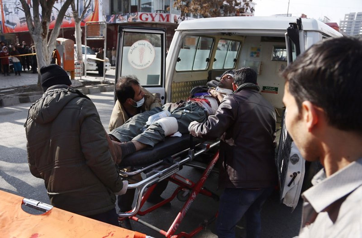 Bomber in Ambulance Detonates at Afghan Checkpoint; 95 Dead