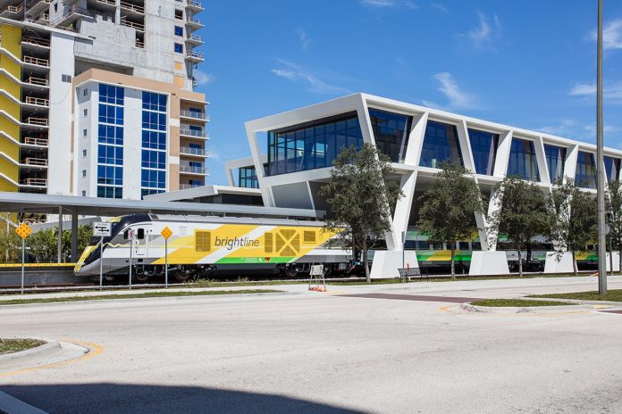 Brightline Train Making Preview Run Hits and Kills Boynton Beach Woman