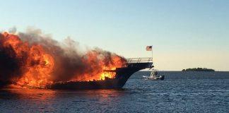 The Sun Cruz Casino Boat Engulfed by Flames, Dozens Safely Escape