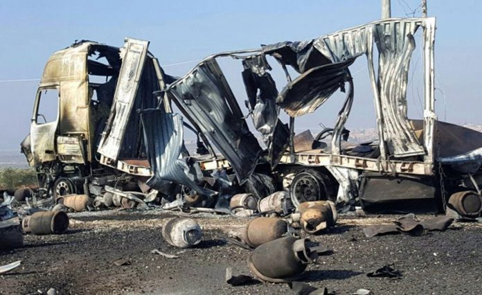 Deaths Mount in Syria Bombing Campaign near Damascus