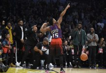 Mitchell Soars to Dunk title, Booker Sets 3-Point Record
