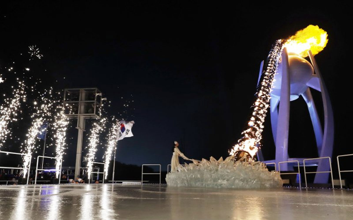 With Extraordinary Political Theater, Winter Olympics Begin