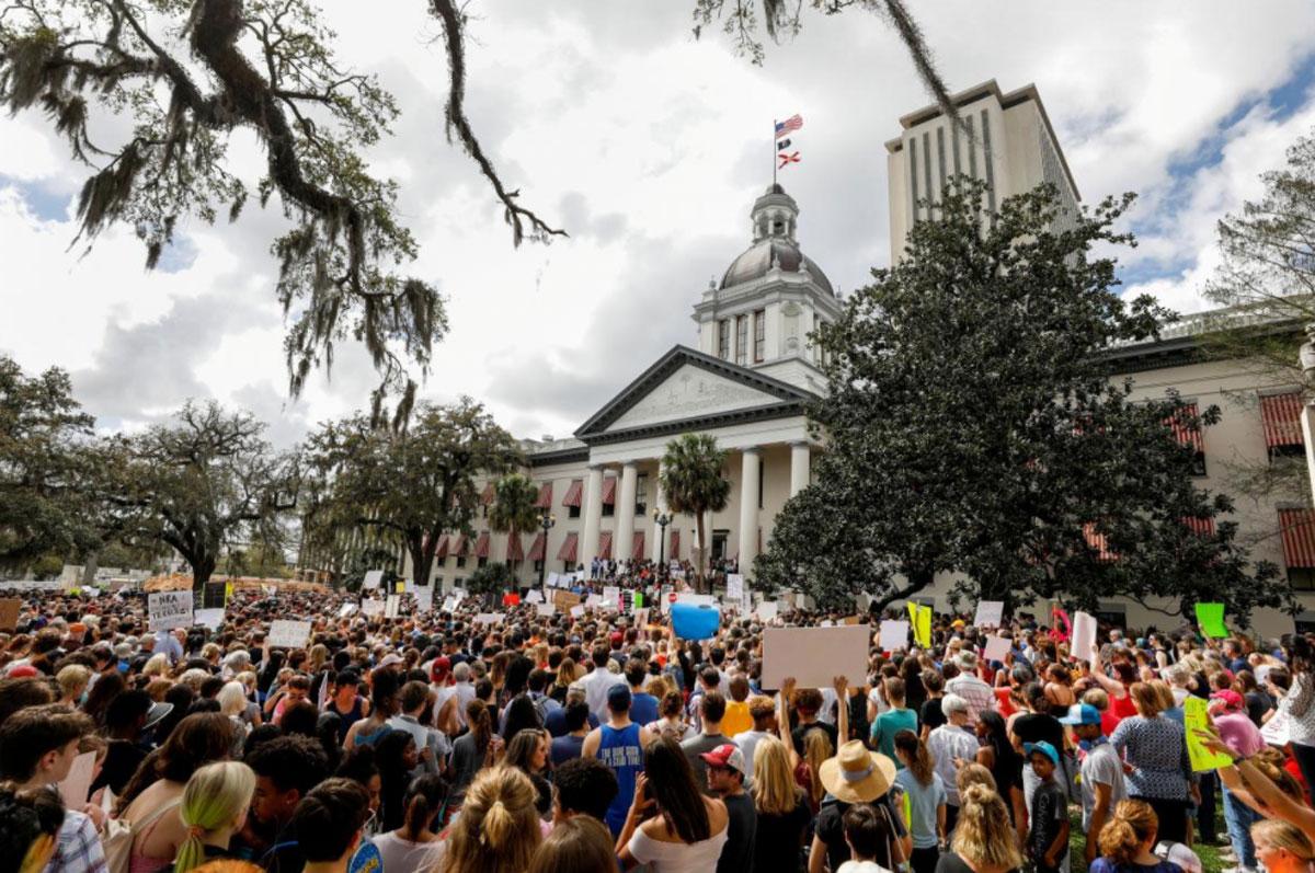 Lawmakers Pass Gun-School Safety Bill Three Weeks after Parkland Massacre