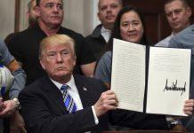 Trump Orders Stiff Trade Tariffs, Unswayed by Grim Warnings