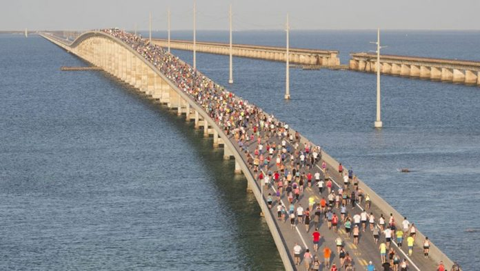 Aydan Child Wins Florida's 7 Mile Bridge Run