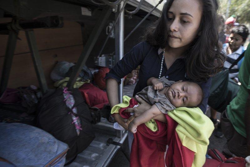 Central American Asylum Seeking Caravan Reaches US Border