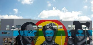 Downtown Hollywood Mural Project Brings New Life to a Historic Town