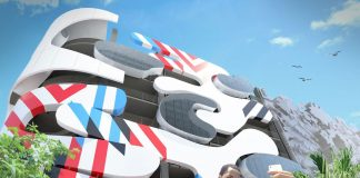 Institute of Contemporary Art Museum Garage Wows with Facade Art
